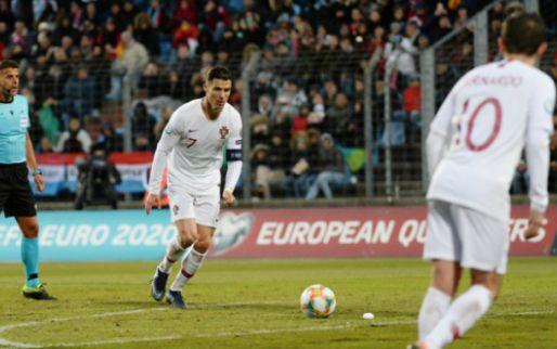 Afbeelding: Niet fitte Ronaldo 'offerde zichzelf op' voor Portugal: