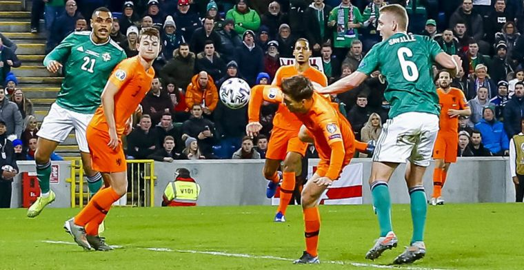 Veltman kan alsnog lachen na 'handsbal': 'Ik neem Matthijs' stokje over, haha'