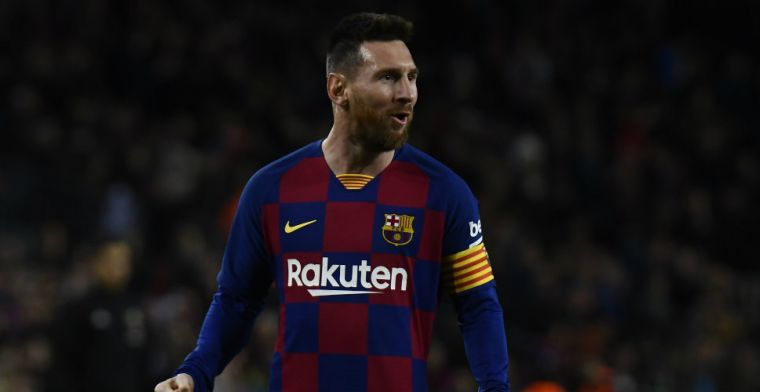 Barça wil contract Messi verlengen: 'Hoop dat hij blijft, denk dat het gebeurt'