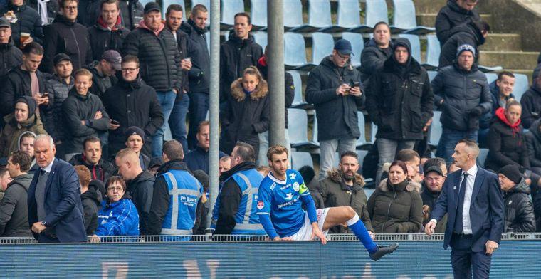 Bossche captain Verbeek over gesprek met fans: 'Danny, was niet tegen die jongen'