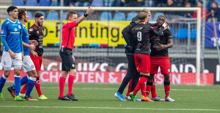 Scheidsrechter legt FC Den Bosch - Excelsior stil: Hij was niet bereikbaar