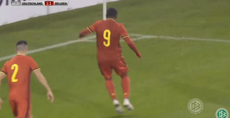 GOAL: Na assist kan Openda (Club Brugge) ook scoren voor België U21