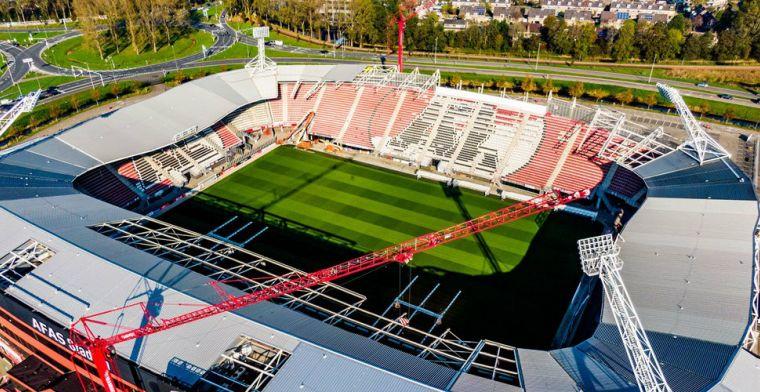 Stadionupdate van directeur Eenhoorn: AZ hoopt Ajax-thuis in Alkmaar te spelen