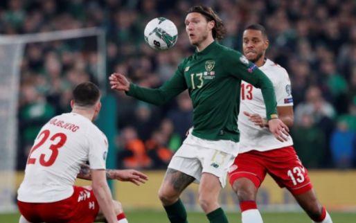 Afbeelding: Denemarken blijft overeind in Dublin en vergezelt Zwitserland naar de EK-eindronde