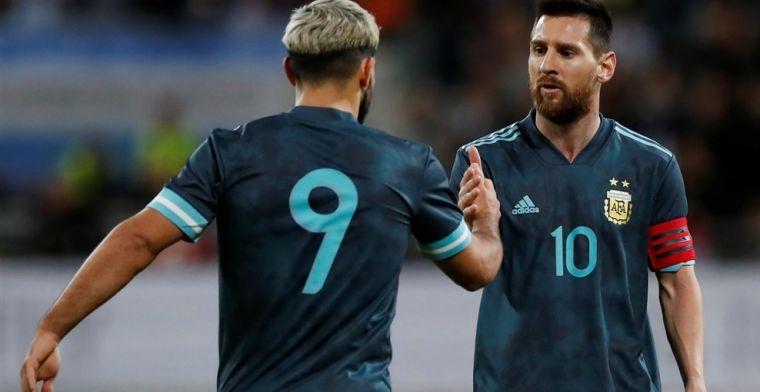 Messi laat het ook tegen Uruguay zien en pakt in slotfase heldenrol van Suárez af