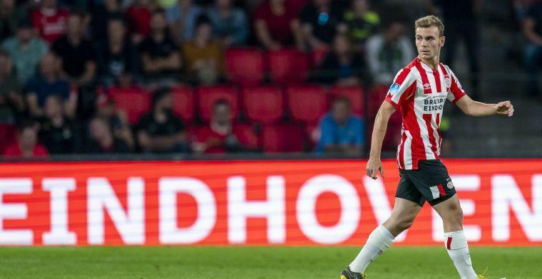 Management bevestigt: 'Vertrek in winter logisch als Lato niet speelt bij PSV'