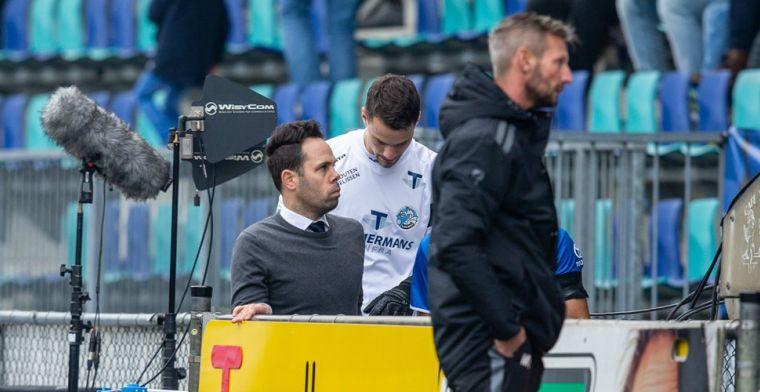 Trainer Van der Ven reist naar Rotterdam en biedt excuses aan Mendes Moreira aan