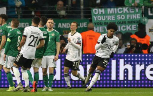 Afbeelding: Duitsland blijft dankzij Gnabry boven Nederland, Ramsey grote held van Cardiff