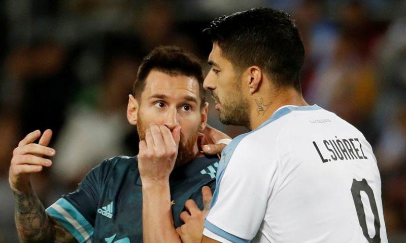 Afbeelding: Olé ziet 'nieuwe' Messi: Cavani daagde Argentijnse ster uit voor vechtpartij