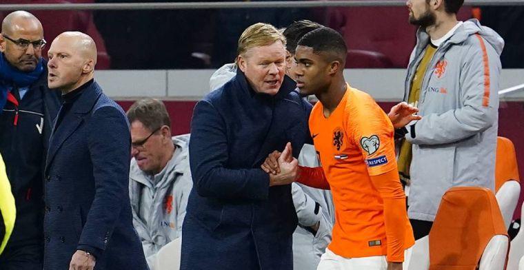 Koeman over 'discussiepuntjes' in Oranje-selectie: Dat zal een strijd worden