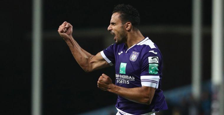 Anderlecht voelt de bui al hangen: 'Chadli houden wordt bijna onmogelijk'