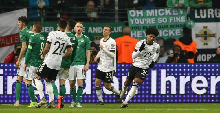 Bayern-feest in Frankfurt, Duitsland boven Oranje, Ramsey held van Wales