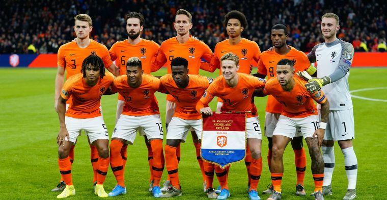 Spelersrapport: Wijnaldum scoort 9 op 'zijn' avond, één onvoldoende voor Oranje