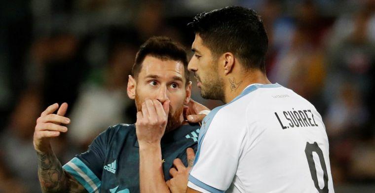 Olé ziet 'nieuwe' Messi: Cavani daagde Argentijnse ster uit voor vechtpartij