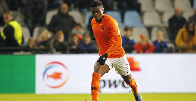 Jong Oranje-held Dilrosun dankt Nike: 'Daar denk je aan bij zo'n vrije trap'