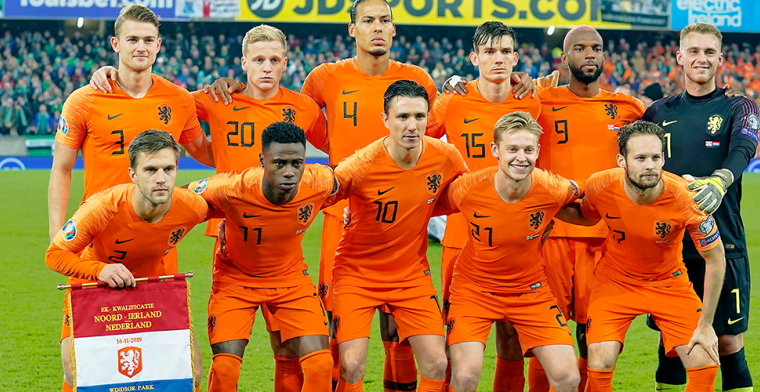 Spelers Nederlands elftal komen met statement tegen racisme: 'Enough is Enough!'