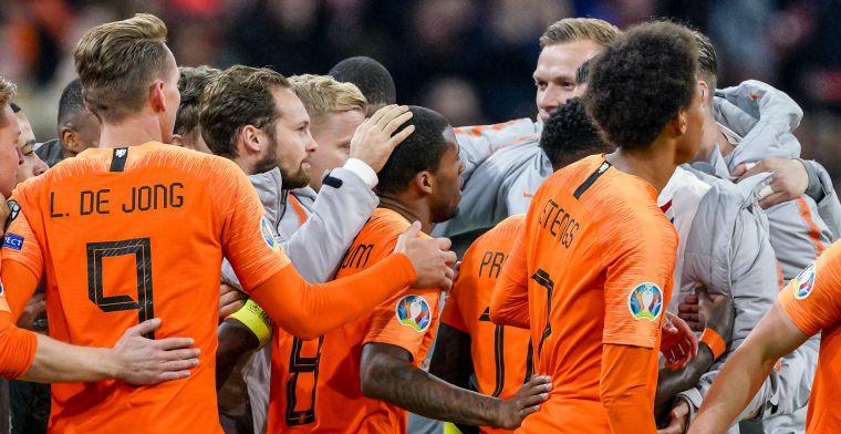 LIVE: Nederland wint met ruime cijfers van Estland (gesloten)