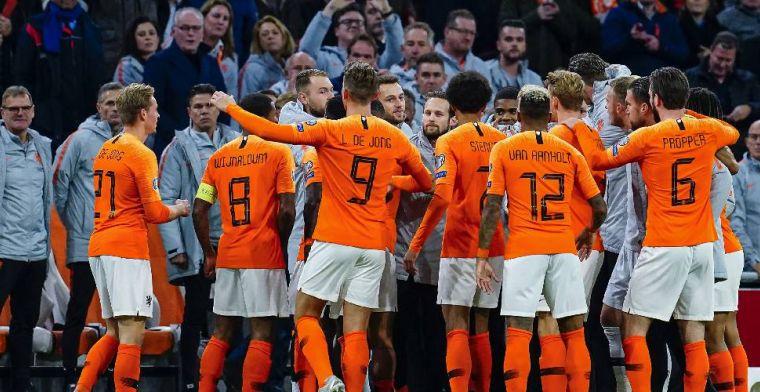 Oranje rolt Estland op: hattrick Wijnaldum, droomdebuut voor Boadu
