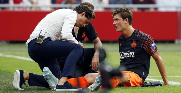 PSV ziet na Bergwijn en Malen nog een aanvaller terugkeren op de training