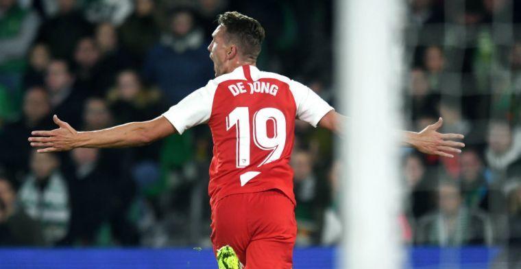 'De goal van Luuk de Jong tegen Noord-Ierland verzekert hem van de EK-selectie'