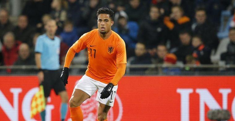 Moeilijk Oranje-gevecht voor Kluivert: Bij Ajax krijg je veel meer kansen