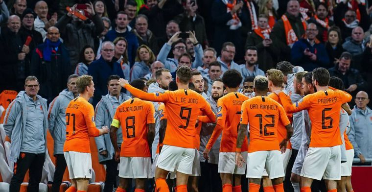 Een 9 voor Wijnaldum: 'Allerbeste persconferentie ooit van Nederlands elftal'
