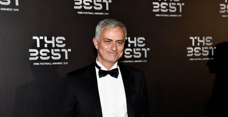 Mourinho weet niet wat hij ziet: ''Prachtig stadion' is veel te bescheiden'