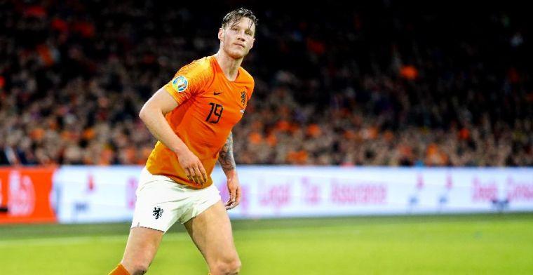 'Trotse' Weghorst scoort punten bij Van der Vaart: 'Het was aanstekelijk'