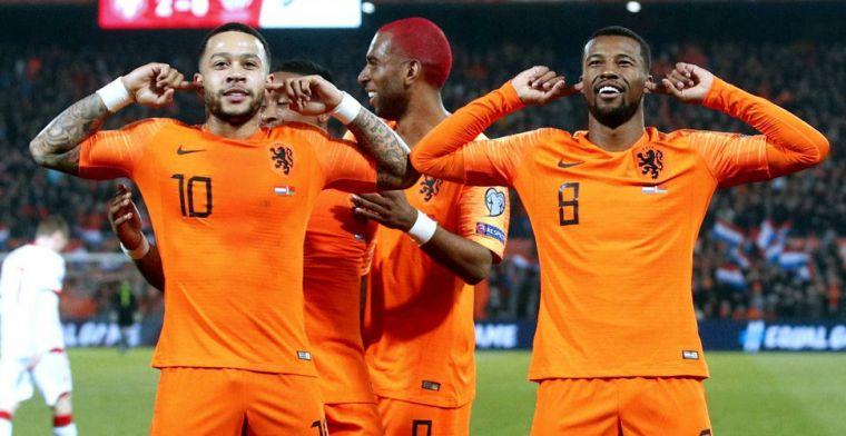 Eindrapport Oranje: dit zijn de cijfers na de EK-kwalificatiereeks