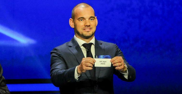 Opvallende keuze Sneijder: 'Hij was de beste met wie ik ooit speelde, fenomenaal'