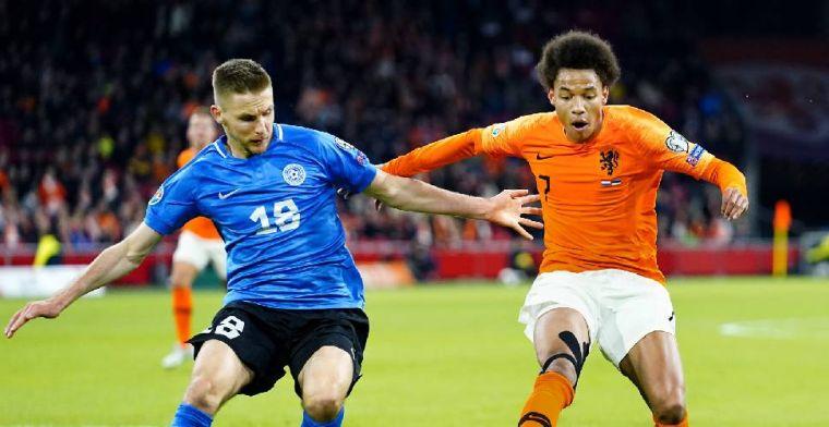 'We kunnen niet stellen dat Stengs een geweldig debuut had voor Oranje'