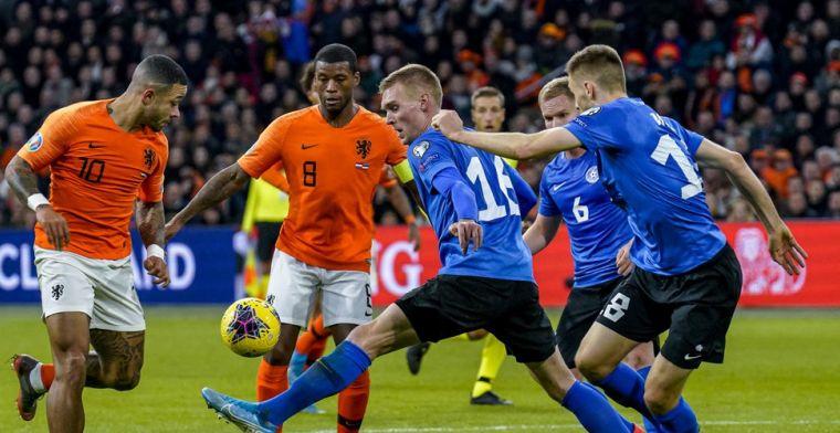'Tegen Estland niet moeilijk, maar De Jong laat ook mooie dingen zien bij Barça'
