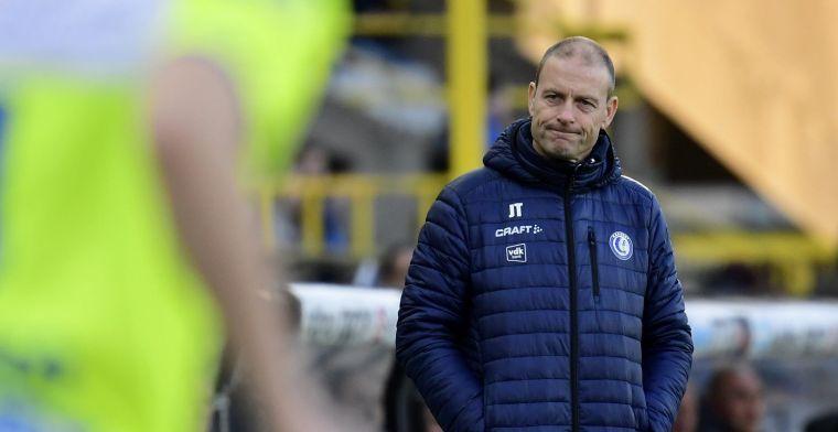 """KAA Gent-coach Thorup geeft grens aan: """"Dan zullen ze het moeilijk krijgen"""