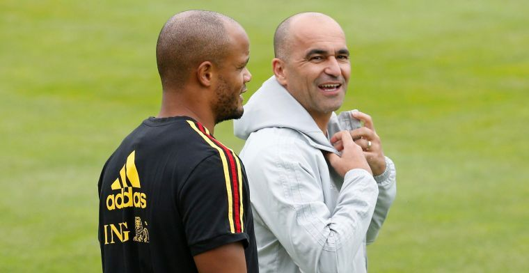 """Martinez dreigt Kompany thuis te laten voor EK: """"We moeten fair blijven"""""""