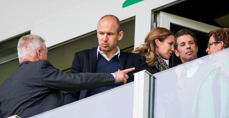 Nominatie Robben zorgt voor 'hoogopgelopen spanningen' in Groningen