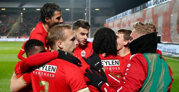 Antwerp pakt drie belangrijke punten tegen AA Gent dankzij twee goals Mbokani