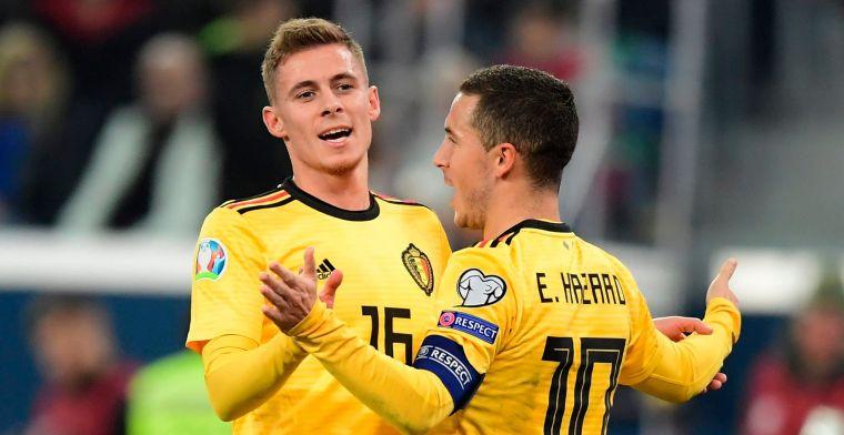 Hazard geeft toe: 'Zij probeerden mij vaak te halen, maar ik heb geweigerd'