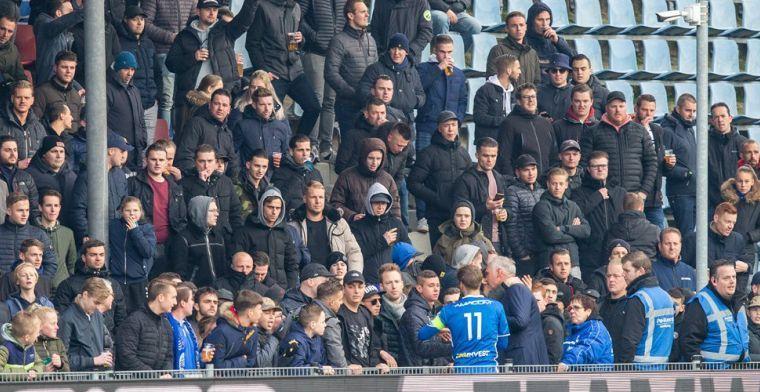 Harde kern FC Den Bosch reageert: 'Er is iets gebeurd waar we niet trots op zijn'