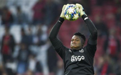 Onana: 'Moeten de supporters accepteren, of Ajax moet een andere keeper opstellen'