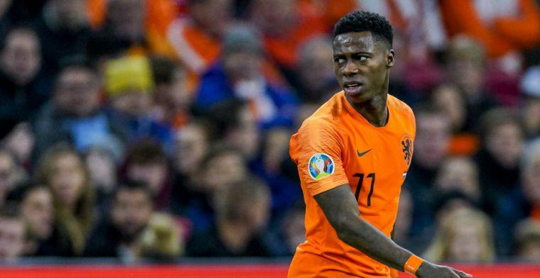 Promes looft ploeggenoten bij Ajax: 'Dat maakt het fijn om met ze te spelen'