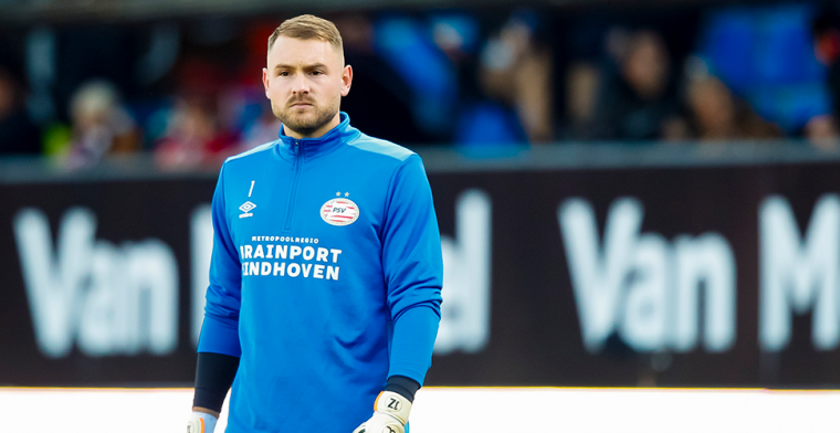 Einde aan soap bij PSV: Oranje-international Zoet tweede keeper in Eindhoven