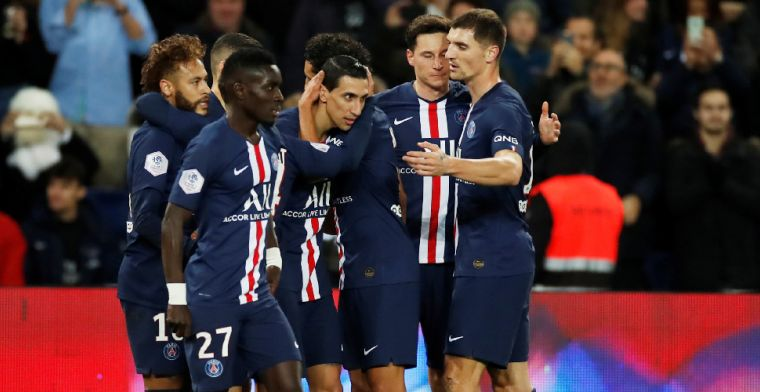 Paris Saint-Germain laat Ajax zien hoe het moet, Neymar maakt rentree