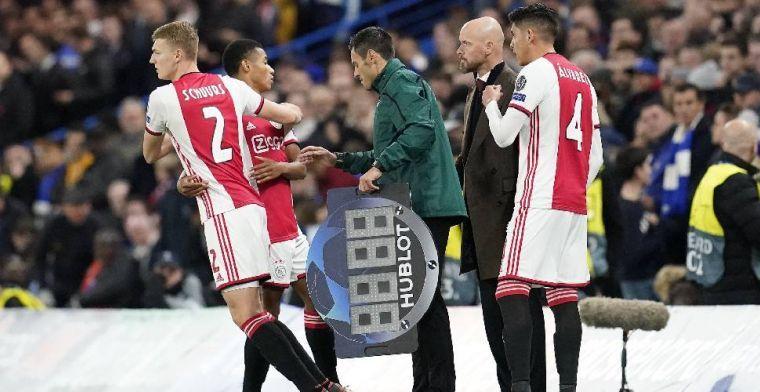 Swart greep Schuurs bij z'n nekvel bij Ajax: Je luistert naar zo iemand