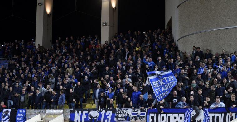 'Parket bestraft vier supporters van Club Brugge na antisemitische gezangen niet'