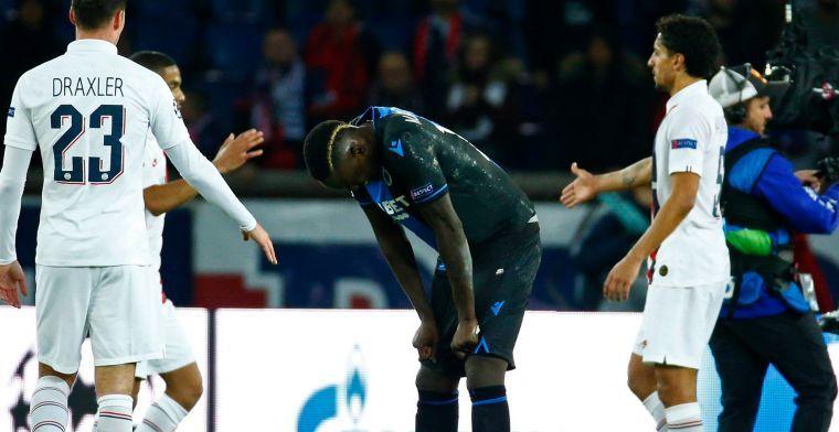 Diagne maakt plezier op training Club Brugge: 'Ik trap niet, dat is voor Vanaken'