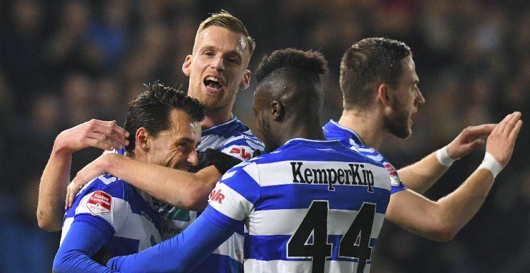 Weer zege Cambuur, Jong Ajax zegeviert in slotfase bij NAC, afstraffing Jong PSV