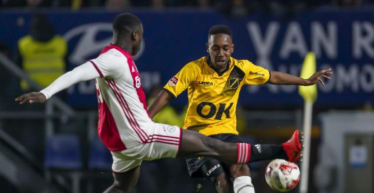 Eerste officiële doelpunt voor Ajax: 'Ik heb nu een mooi gevoel'