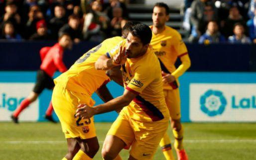 Afbeelding: Barça worstelt met oude Eredivisie-bekenden in Leganés, maar komt boven door Vidal