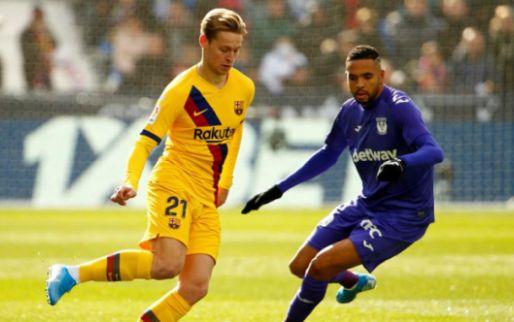 Afbeelding: Twee sterren, een 7 én een 5 voor De Jong: 'De enige op wie Barça kon rekenen'