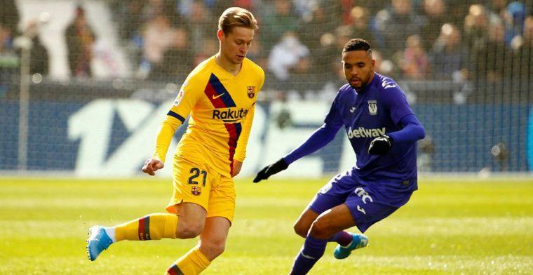 Twee sterren, een 7 én een 5 voor De Jong: 'De enige op wie Barça kon rekenen'